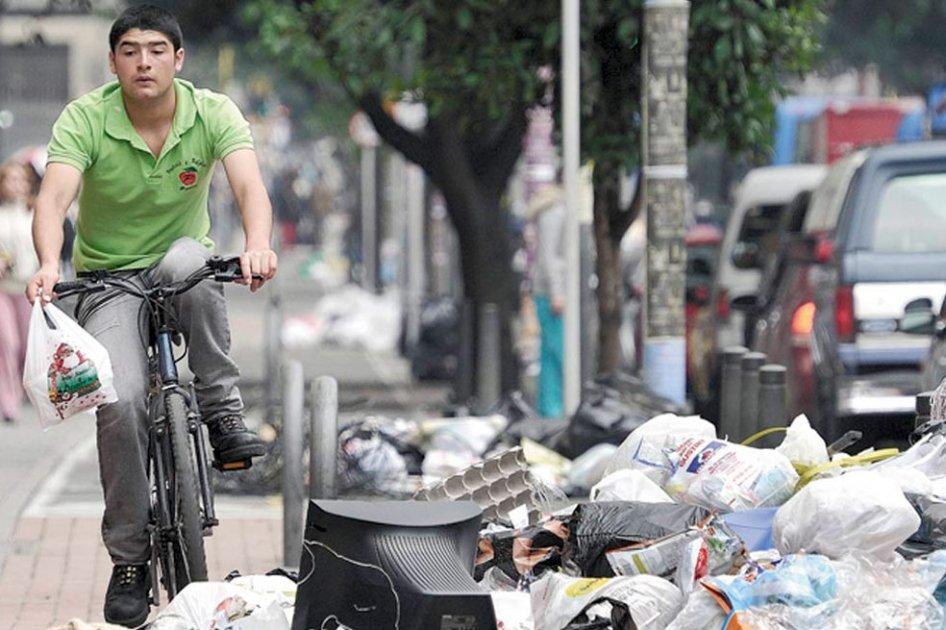 Conozca cómo identificar un punto critico de residuos en Bogotá